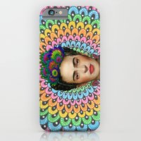 iPhone & iPod Case featuring Frida Kahlo by Luna Portnoi