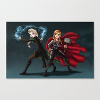 Thunder and Frost Canvas Print