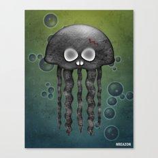 Jelly Swamp Print by NREAZON Canvas Print
