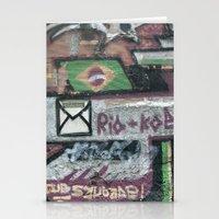 Rio Graffiti  Stationery Cards