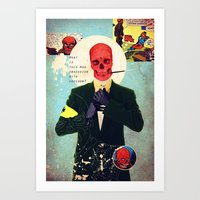 What Is This Mad Obsessi… Art Print