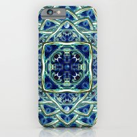 Blue & Green Yin Yang iPhone 6 Slim Case