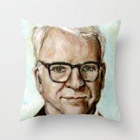 Steve Martin Throw Pillow