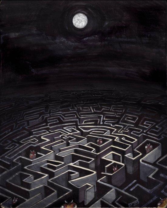 Labyrinth Art Print