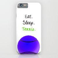 Eat. Sleep. Tennis.  (Bl… iPhone 6 Slim Case