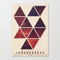 Midnight Juggernauts Canvas Print