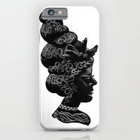 Silhouette of a Lady iPhone 6 Slim Case