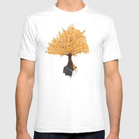 Tree of Knowledge Mens Fitted Tee White SMALL