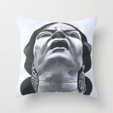 Suffering Throw Pillow