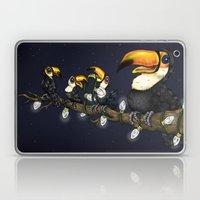 Christmas Toucans Laptop & iPad Skin