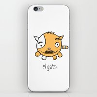 el gato iPhone & iPod Skin