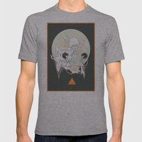 moon stone Mens Fitted Tee Athletic Grey SMALL