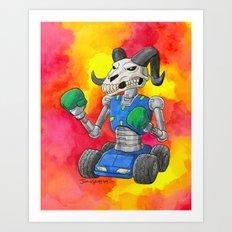Put Up Your Dukes Art Print