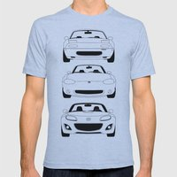MX-5/Miata Generations Mens Fitted Tee Athletic Blue SMALL