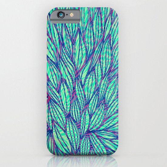 Natural leaves iPhone & iPod Case