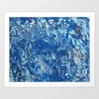 Arctic Sea Art Print