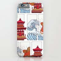 iPhone & iPod Case featuring Japan by HarrietAliceFox