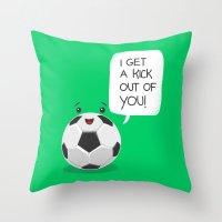 Tough Love! Throw Pillow