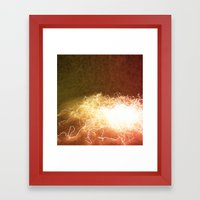 Wired up Framed Art Print