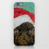 Santa Pug iPhone 6 Slim Case