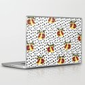 Blood Orange and Dots Laptop & iPad Skin