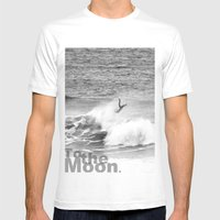 To The Moon  Mens Fitted Tee White SMALL