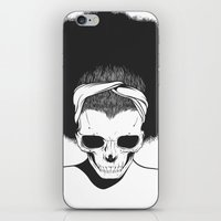 SKull GIrls 2 - Sky Teal iPhone & iPod Skin