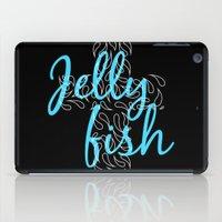Jellyfish Cross Black iPad Case