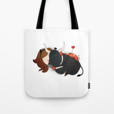 Embrace the Bull Tote Bag