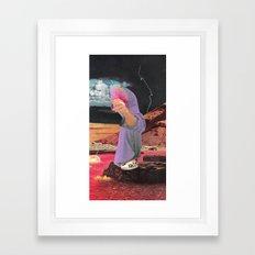 fresh monk Framed Art Print