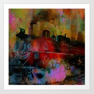 Arrival Of The Train Of … Art Print