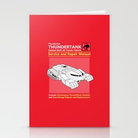 Thundertank Service and Repair Manual Stationery Cards
