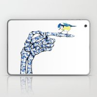 Hand Laptop & iPad Skin