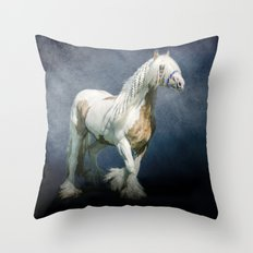 Under a gypsy moon Throw Pillow