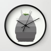 Leaf It To Me - My Neigh… Wall Clock