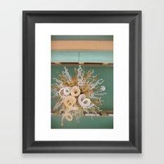 Ivory Towers Framed Art Print