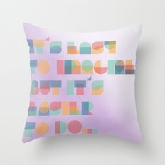 It's Easy to Imagine Throw Pillow