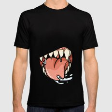 HUNGER Mens Fitted Tee SMALL Black