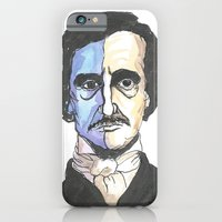 iPhone & iPod Case featuring Poe by Mark B Hill Art