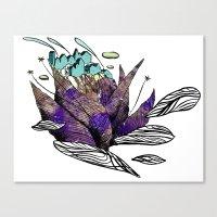 Explore (thorns) Canvas Print