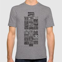 Ezekiel 25:17 Mens Fitted Tee Tri-Grey SMALL