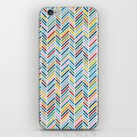 Herringbone Colour iPhone & iPod Skin