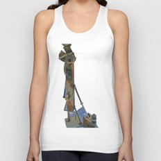 me and my i-beam clamp Unisex Tank Top