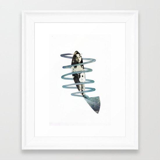 F i s h Framed Art Print