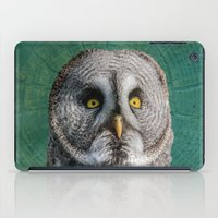 GREY OWL iPad Case