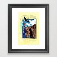 Chiricahua Range Framed Art Print