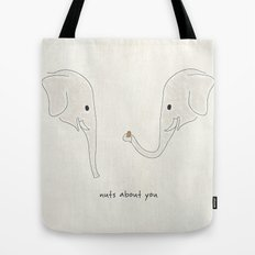 Nuts About You Tote Bag