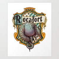 HP Rocafort House Crest Art Print