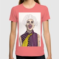 Fashion Illustration - Patterns and Prints - Part 1 Womens Fitted Tee Pomegranate SMALL