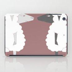 White Sheep meets Black Sheep iPad Case